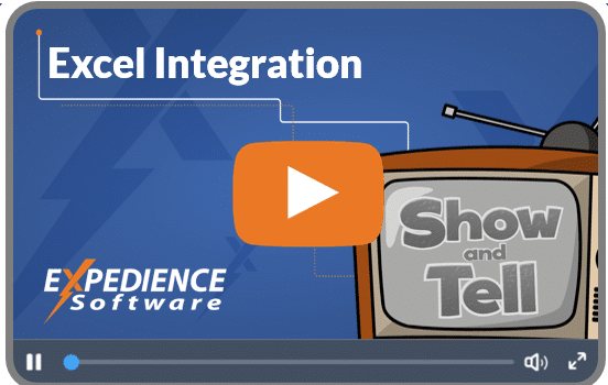 Excel Integration video