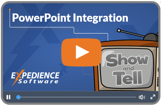 Powerpoint integration video